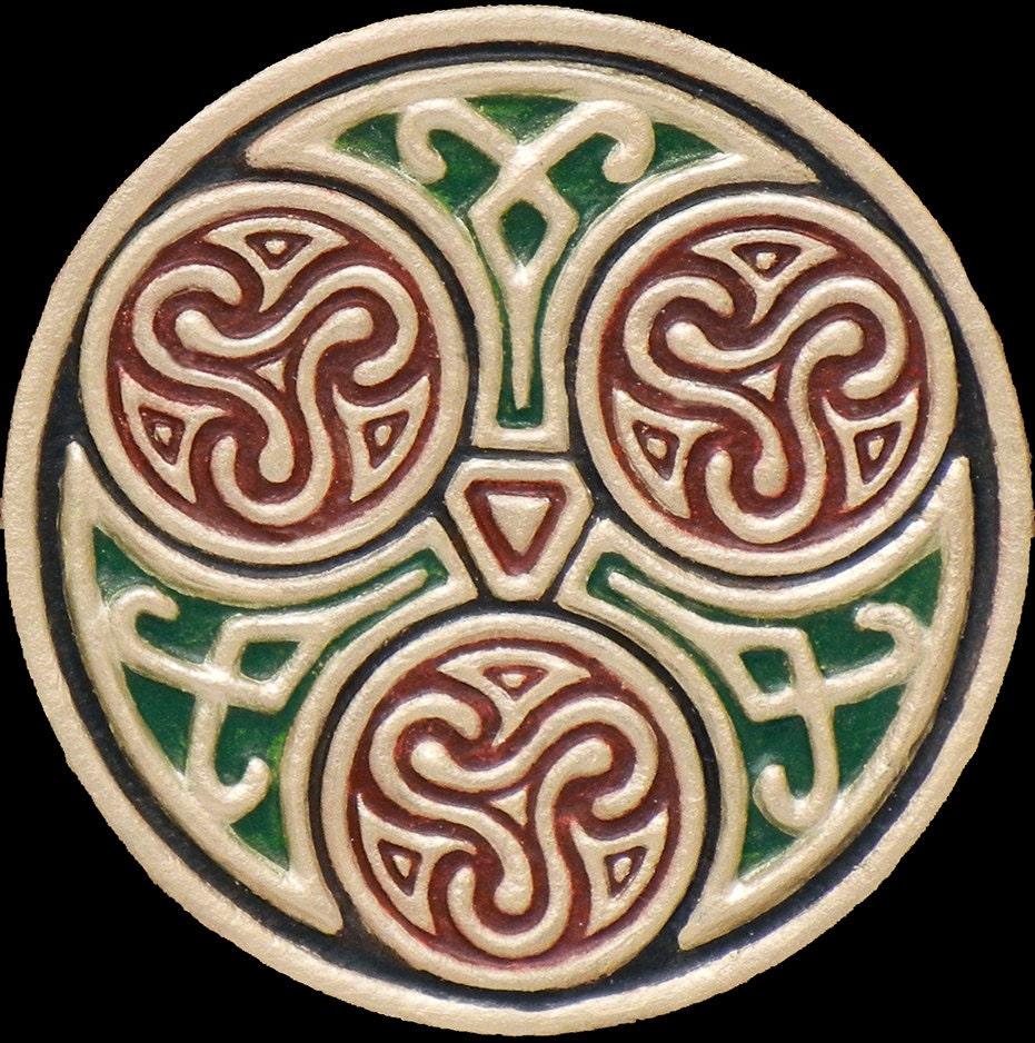 Celtic Family Circle Cast Paper Celtic Blessing Irish