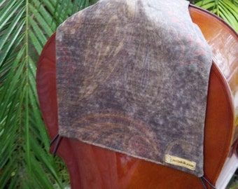 Cello Bib 'Velvet Dusk' for your Comfort and Your Cello's Protection