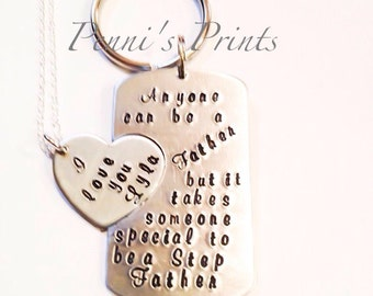 Wedding Gift For Mom And Stepdad : jewelry, step dad, wedding gift, step daughters gift, step dad gift ...