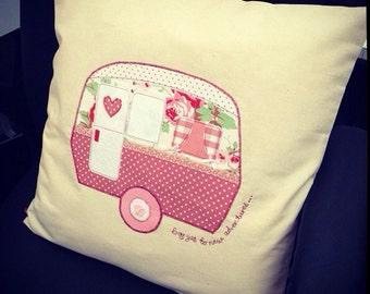 Personalised Caravan/Campervan Cushion Cover
