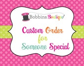 Custom Order Krista J - Girls Messenger