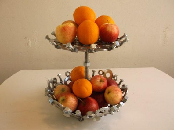 Fruit bowl two tier fruit bowl - Tiered fruit bowl ...