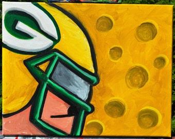 GB Packers Sunday Warrior fine art