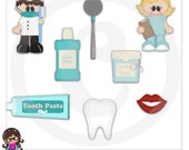 When I Grow Up Dentist Kids  Clip art  Clipart Graphics  Commercial Use