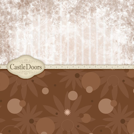 Basket Weaving Supplies Phoenix Az : Digital chocolate scrapbook paper downloadable papers