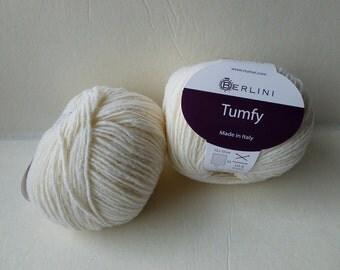 Yarn Sale  -Creamy White Tumfy by Berlini