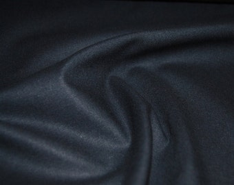 Kunterbunter cotton - black uni