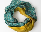 Silk Scarf in Vintage Fabric - 10