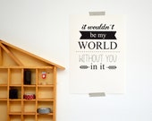 Gossip Girl quote print - Chuck and Blair