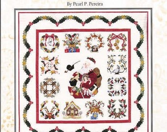 BALTIMORE CHRISTMAS by Pearl P Pereira, 13 Block Set