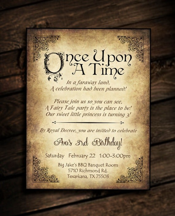 Once Upon A Time Writing Fairy Tale Unavailable Listing on...