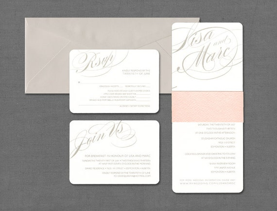 Traditional Elegant Wedding Invitations: Classic Wedding Invitation Elegant Wedding Invitation Simple