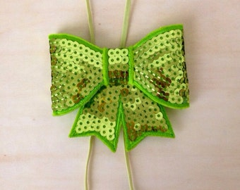 Large Sequin Bow
