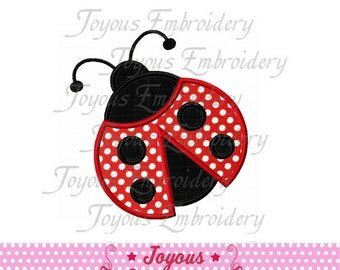 Instant Download Ladybug Applique 02 Machine Embroidery Design NO:1503