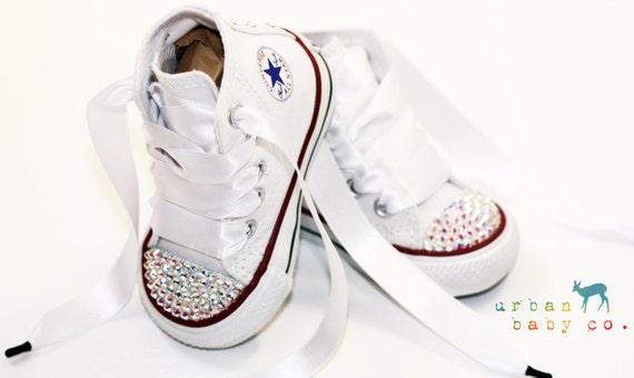 scarpe converse bianche bambina