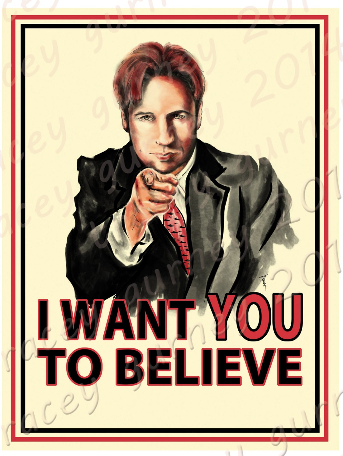 Uncle mulder wants you to believe vinyl sticker for I need an engineer