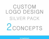 Custom Logo Design (Silver Pack - 2 concepts) - Professional branding for your business - Custom and one of a kind