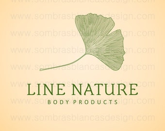 OOAK Premade Logo Design - Line Nature