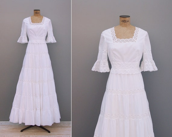 Items similar to sale 30 off 1970s wedding dress for 1970s wedding dresses for sale