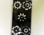 Black and White Paper Flowers Die Cuts for Crafts Scrapbooking