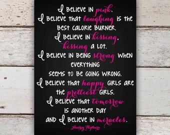 I Believe in Pink Canvas