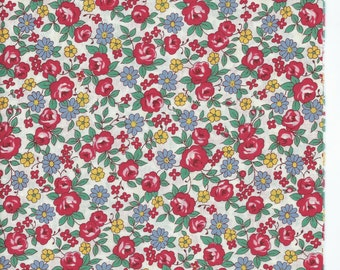 Vintage Floral  from the 30's Collection by Atsuko Matsuyama for Yuwa of Japan