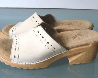 Made in Italy Platform Clogs Size 7US