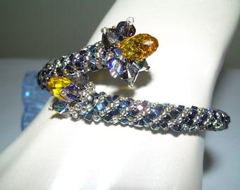 Clinging Vine Bangle Bracelet