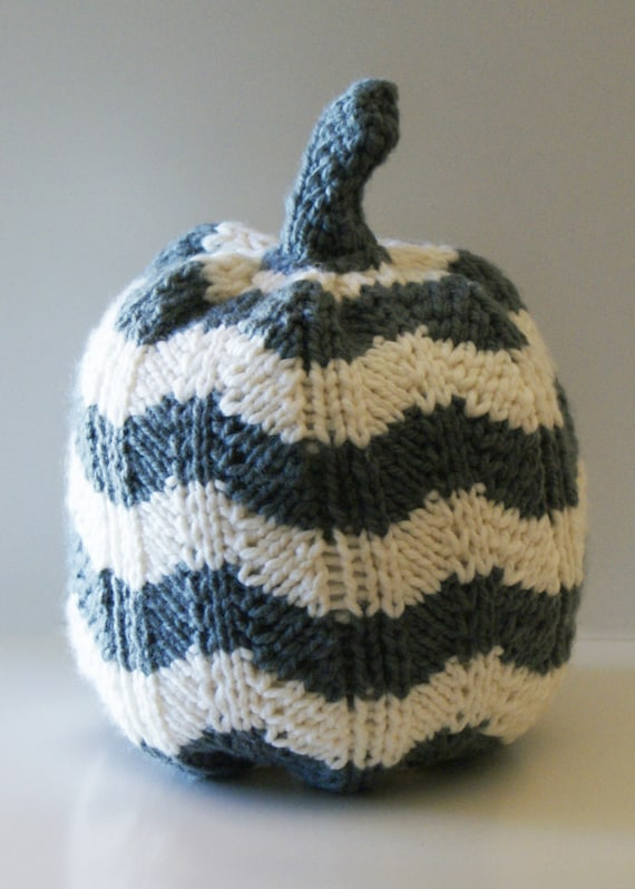 Knitting Inspirations Perth : Diy knitting pattern chevron knit pumpkins for