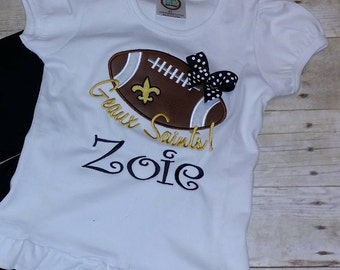 New Orleans Saints - Geaux Saints!  Baby, Toddler and Girls Shirt