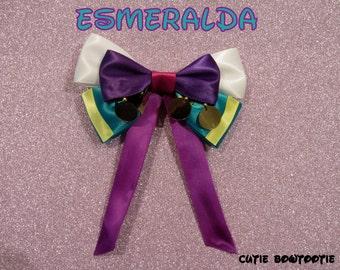 Esmeralda Hair Bow Hunchback of Notre Dame Disney Inspired