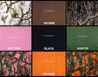 Custom Make your own Camo Blanket!!  42x36''