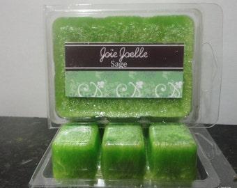 Sage Green  Palm Wax Candle Melts Tarts