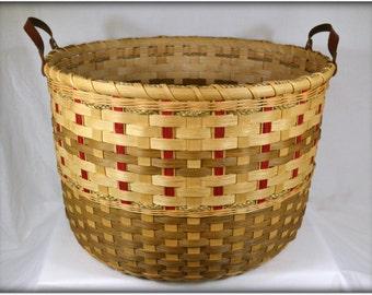 """BASKET PATTERN """"Valerie"""" Large Towel or Gathering Basket"""