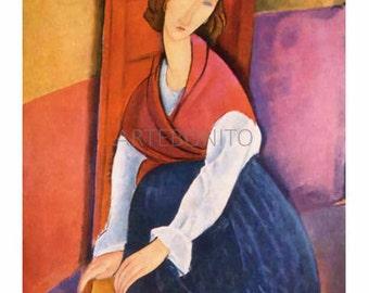 Amedeo Modigliani 'Elegancia tutti Toscani' limited edition & numbered