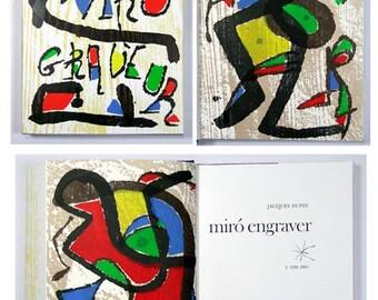 Miro Engraver Vol 1, Catalogue Raisonnee 1928-1960, Limited Edition, includes 3 woodcuts.