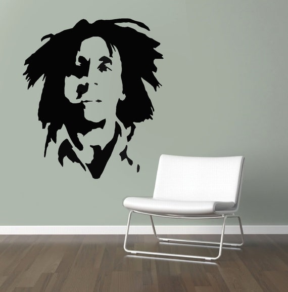 Bob Marley Stencil Reusable Stencil For Home Decor Create