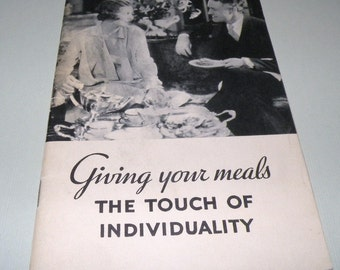1935 Giving you Meals the Touch of Individuality by Standard Brands California