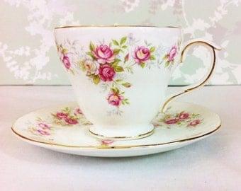 """Duchess China """"June Bouquet"""" Tea Duo"""
