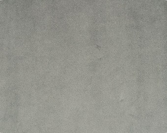 """Fat Quarter size, 18"""" x 30"""" CHARCOAL, piece of cuddle fabric by Shannon Fabrics for crafts, sewing, costumes, pillows"""
