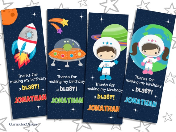 Space Rocket party pdf printable PERSONALIZED outer space ...