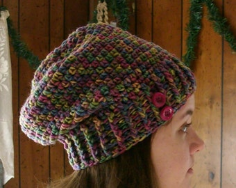 Multi-Color Slouch Hat / Beanie