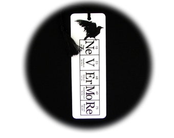 Nevermore Raven Bookmark ElementeesTM for the nerd in you