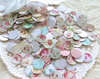 Country Chic Style Confetti, Jumbo Dots