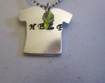 """1/2 OFF Beatles """"Help"""" on a tee shirt necklace"""