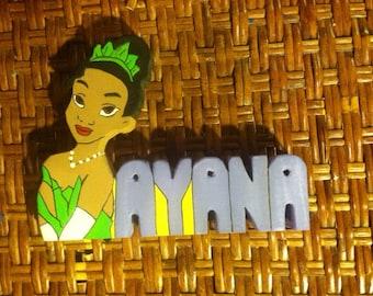 Disney Name Plaque Etsy