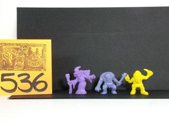 1970's Pocket Monsters Set of 3