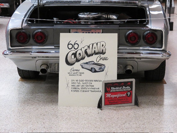 Classic Car Signs : Car show display signs for hot rods classic cars or