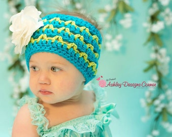 Crochet Pattern Up, Down and All Around Ear Warmer (Toddler - Adult) - PDF - Instant Digital Download