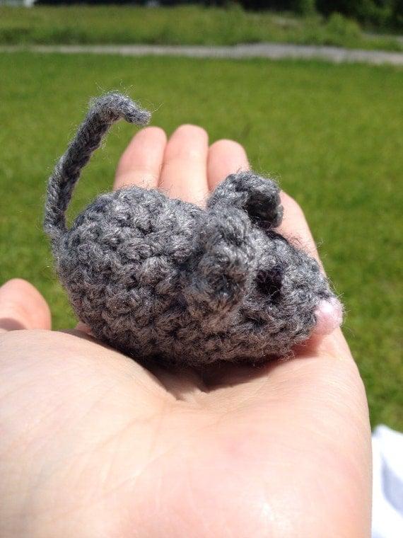 Amigurumi Mouse Cat Toy : mouse cat toy cat toy amigurumi mouse cat toy by TheCrochetMom
